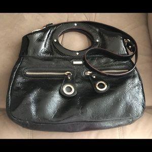 Kate Spade Black Leather Crossbody/Hobo Purse